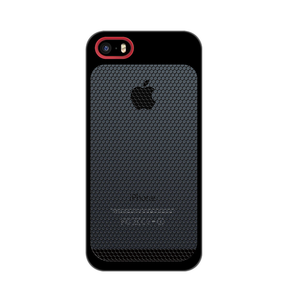 Sevenmilli Honeycomb iPhone 6 Black and Red