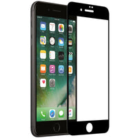 iPhone 8 PLUS & 7 PLUS Full Edge to Edge 3D Tempered Glass Screen Protector - Black