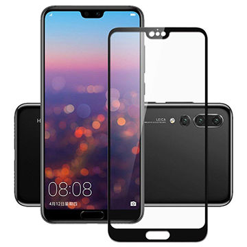Huawei P20 Mate 20 3D Curved Full Tempered Glass Screen Protector For