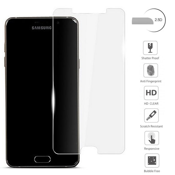 Samsung Galaxy A5 2017 2.5D Clear Flat Tempered glass screen protector