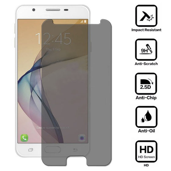 Samsung Galaxy J5 Prime 2.5D Clear Flat Tempered glass screen protector