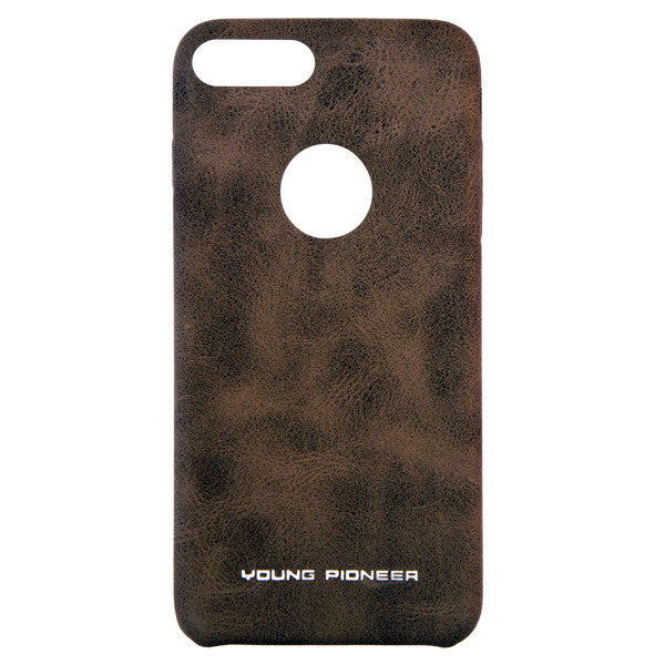 Young Pioneer PU Leather Back Cover for iPhone 7 Plus