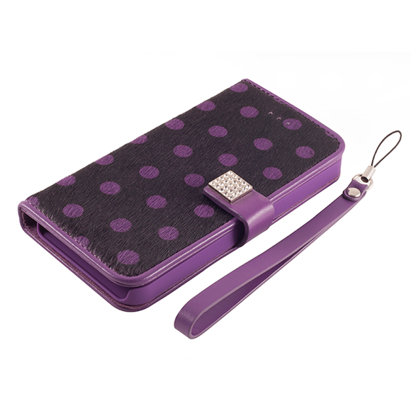 Memumi Wildling series iPhone 5 Purple polka-dot print