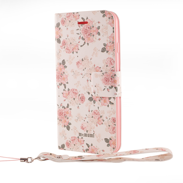 Memumi Flower series iPhone 6 pink and white flower print