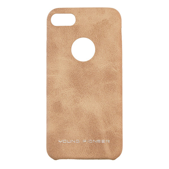 Young Pioneer PU Leather Back Cover for iPhone 7