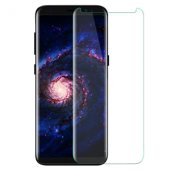 3D Tempered glass screen protector for Samsung Galaxy S8 - Clear