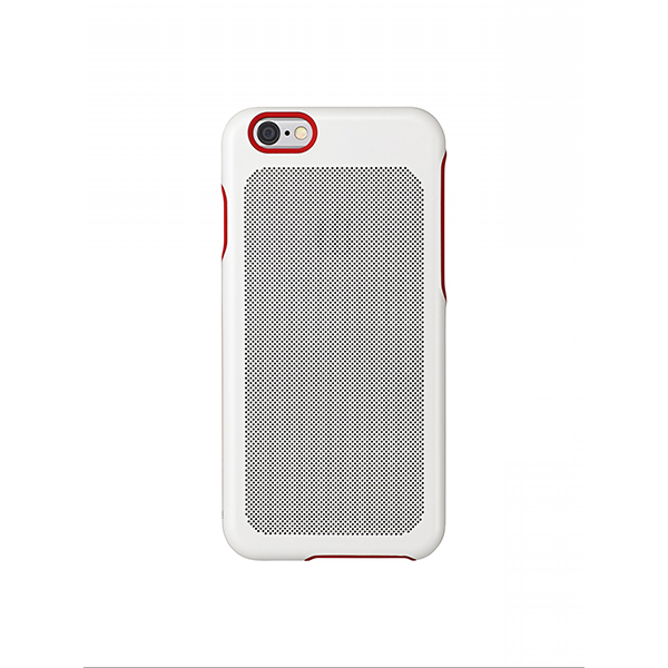 Sevenmilli Ultraslim mesh iPhone 5 White and Red