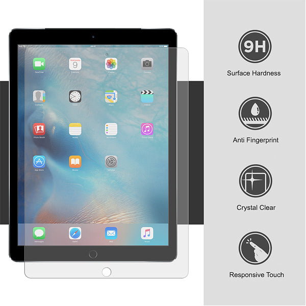 "iPad Pro 2 12.9"" 2.5D Flat Clear Tempered glass screen protector"