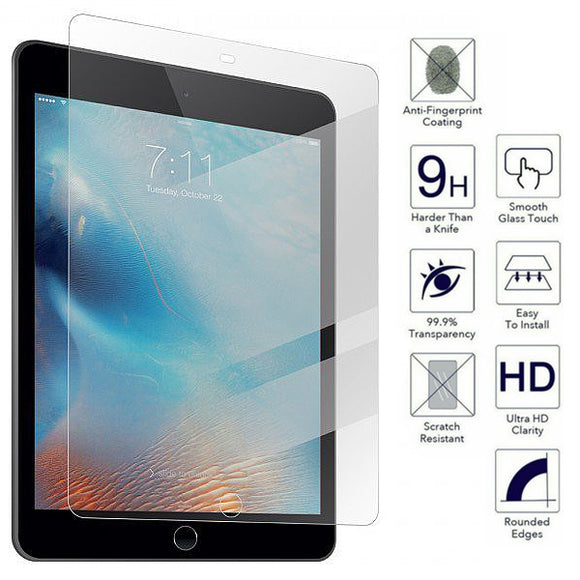 "iPad 2017 9.7"" 2.5D Clear Flat Tempered glass screen protector"