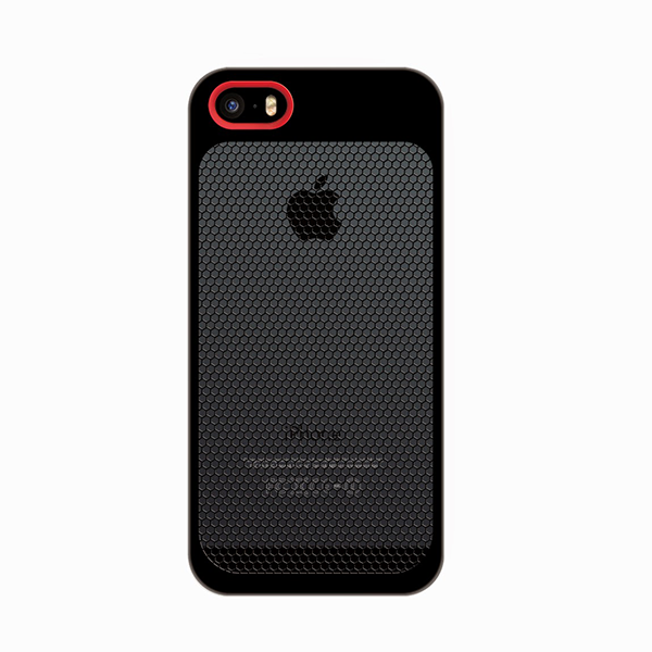 Sevenmilli Ultraslim mesh iPhone 5 Black and Red
