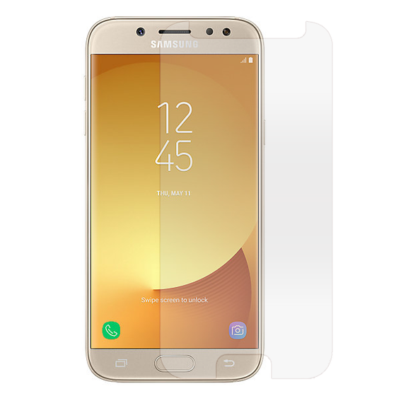 Samsung J7 Pro 2.5D Clear Flat Tempered Glass Screen Protector
