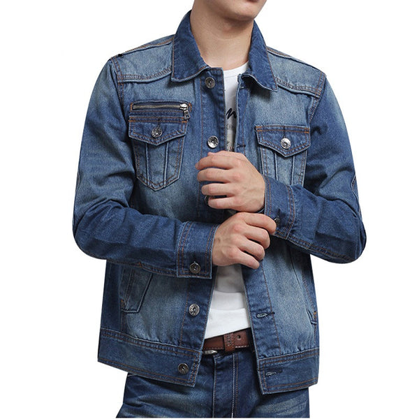 Men's Denim Blue Jacket