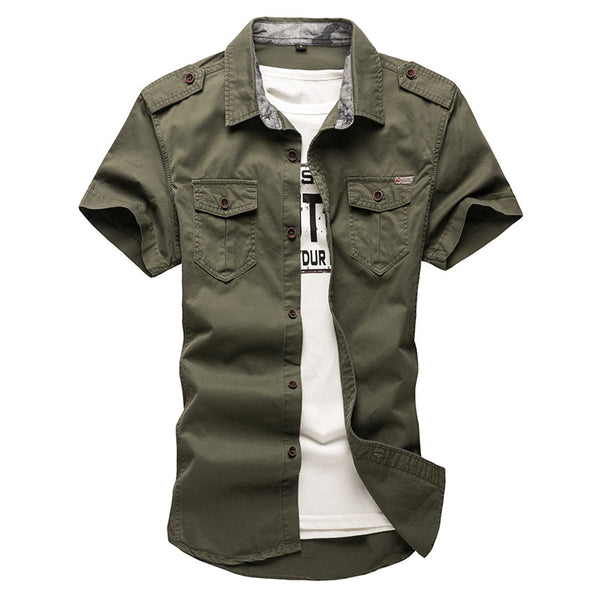 Mens shirt short sleeve  3 colors