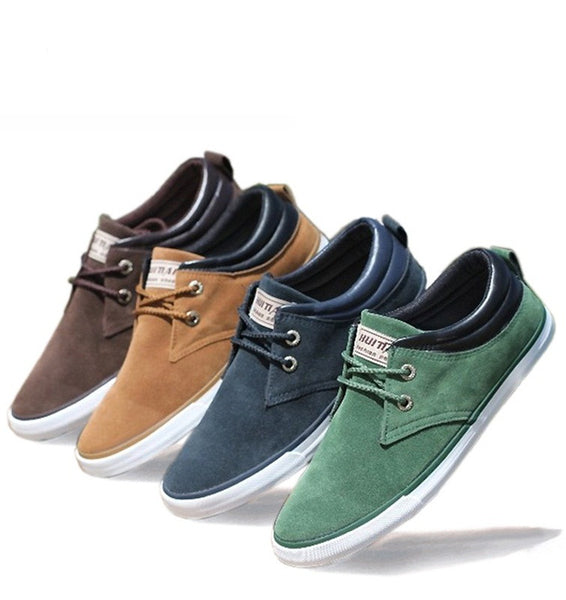 Men Casual shoes Spring Autumn suede 4 colors