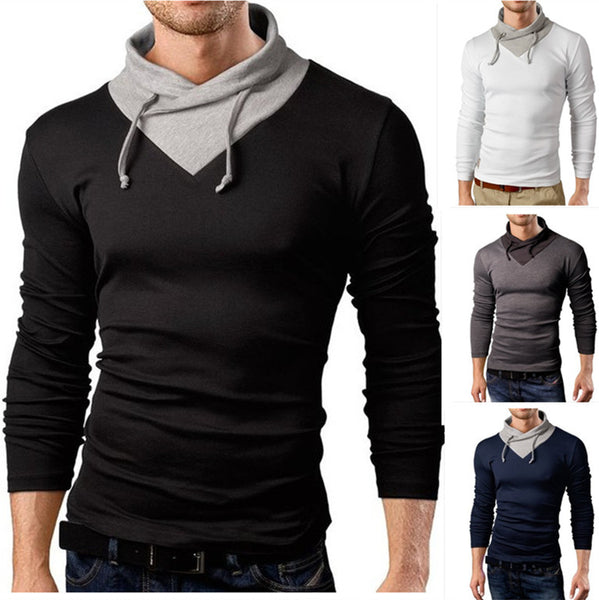 Men T-Shirt Long Sleeve 4 colors