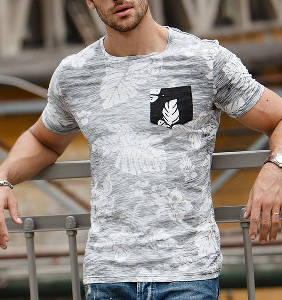 Men's T-shirt with cotton