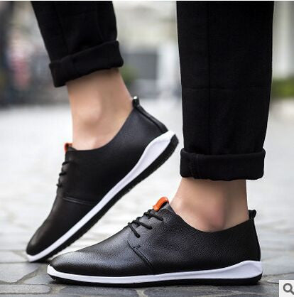 Men'S Casual Shoes Black/Blue/Orange/White