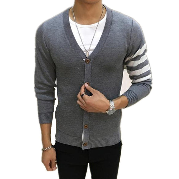 Men's Sweater Cardigan 4 colors