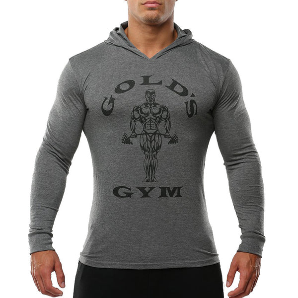 Men's T-shirt sport with hood 3 colors