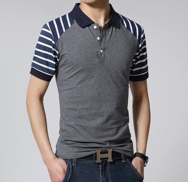 Men's Short Sleeve Polo-Shirt Cotton