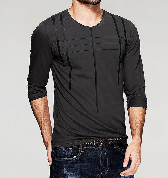 Men's long-sleeved T-shirt 2 colors
