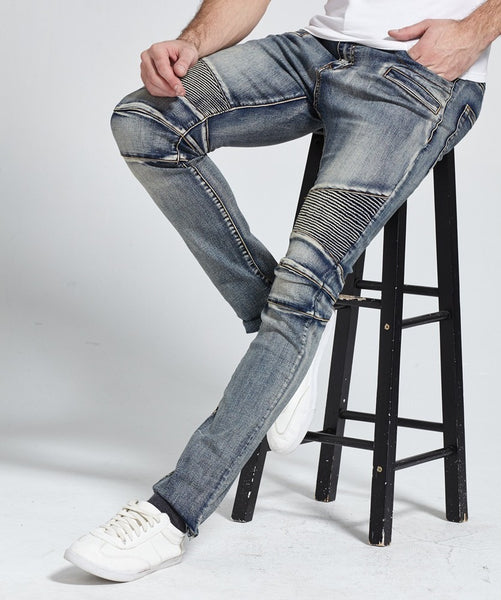 Men jeans skinny 2 colors
