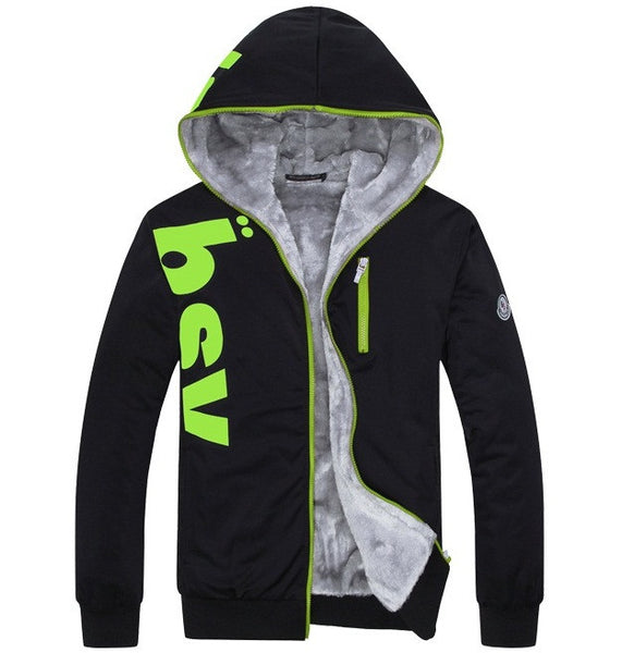 Mens Casual Hooded Jacket 3 colors