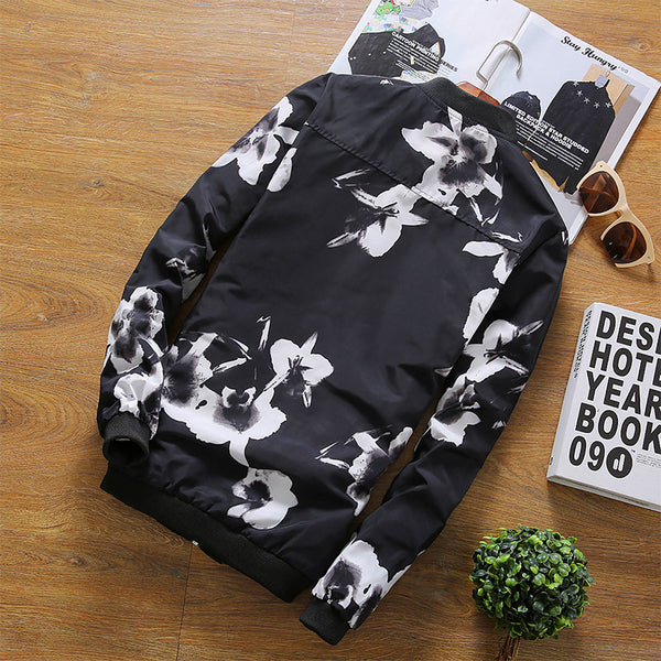 Floral Jacket Men available 2 colors