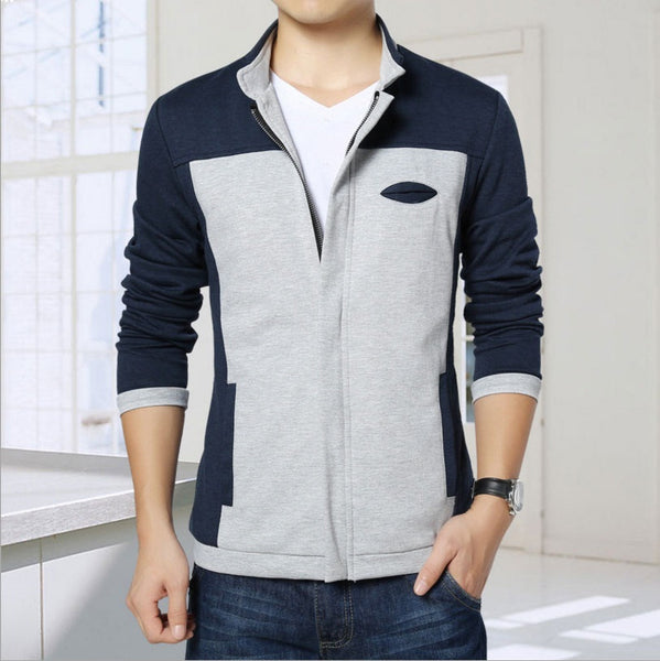 Casual Men's Jacket 4 Colors Spring/Summer/Autumn