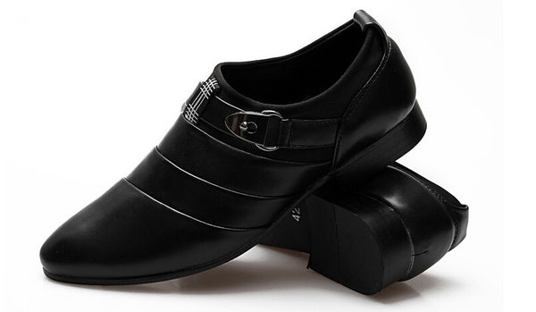 Men Leather Shoes 3 colors