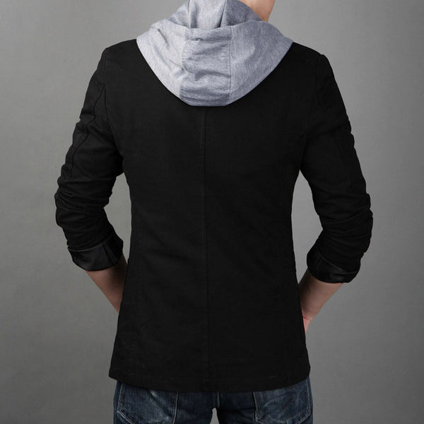 Men Jacket Hooded 2 colors