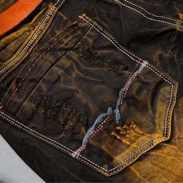 Vintage Mens Ripped Jeans
