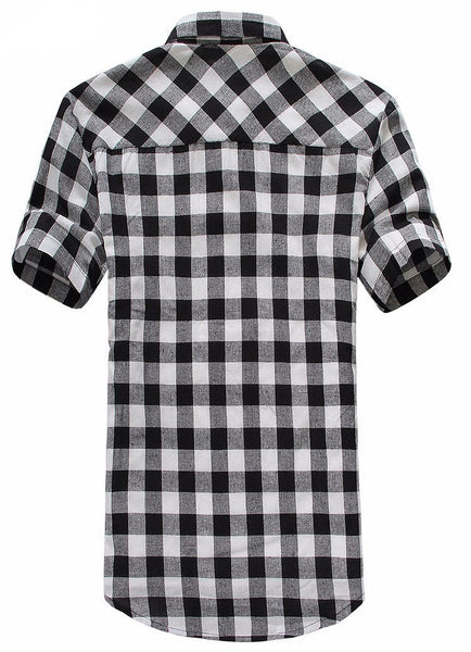 Shirt Plaid  4 colors