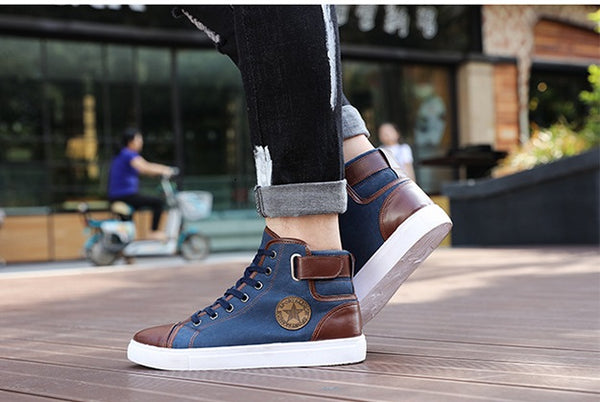 Fall winter spring men's casual shoes 3 colors