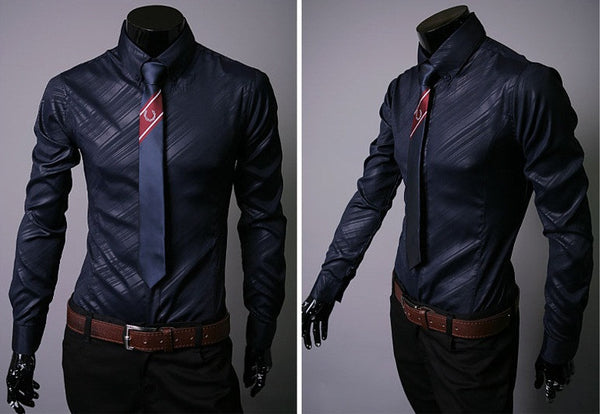 Business Men's Shirt 3 colors