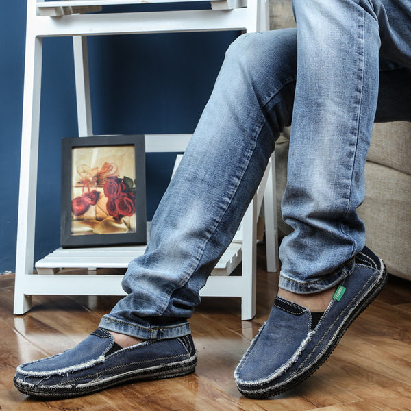Mens Casual Shoes Jeans Canvas 3 colors