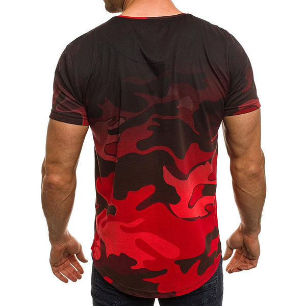 T-shirt camouflage 3 colors