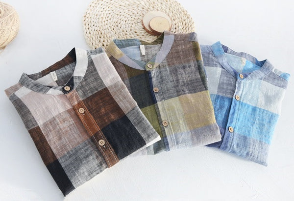WAVE Linen shirt (3 colors)