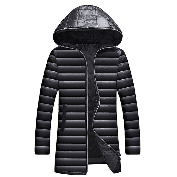 Men Coats/Parkas Hooded Autumn and Winter 3 colors
