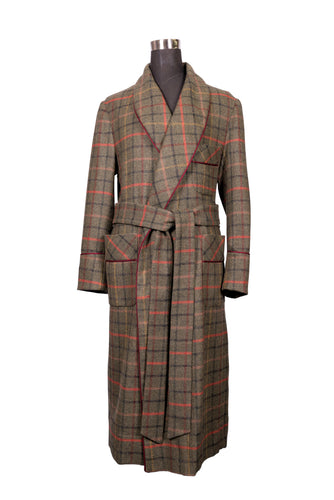 Luxury 100% Wool Dressing Gown