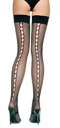 Ella Vine Lingerie hosiery underwear poppy stockings fishnets lace lacy sexy cheap luxury