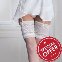 Ella Vine lingerie poppy stockings bridal hosiery suspender belt sexy luxury cheap underwear