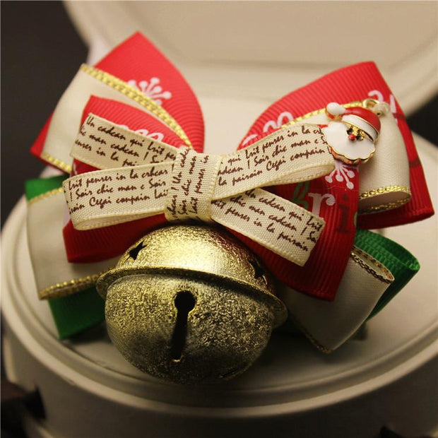Cute Christmas Handmade Dog Cat Collar