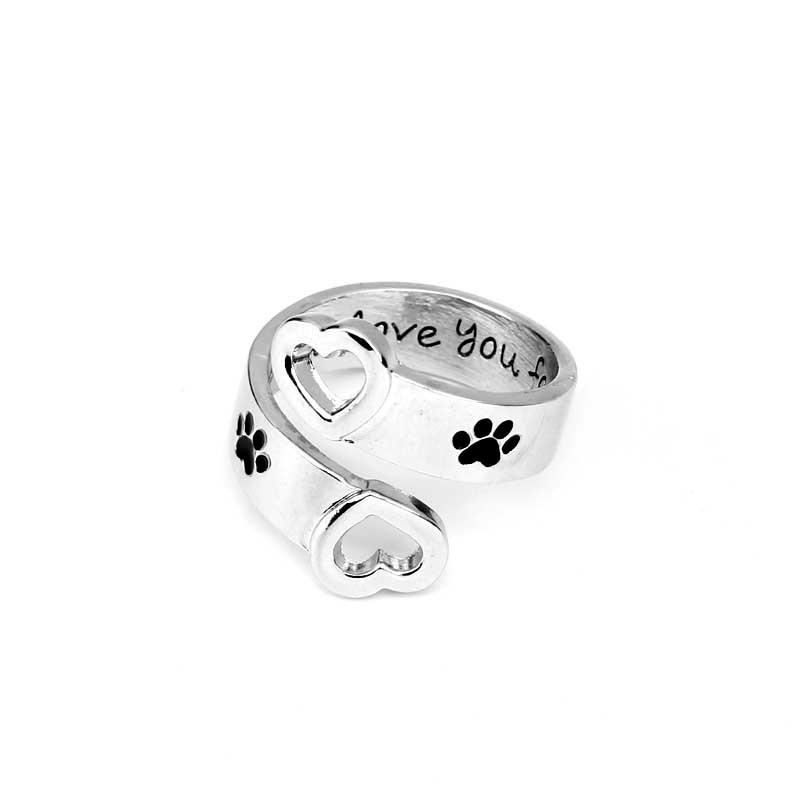 I will love you forever  rings - Delighful Pet Accessories