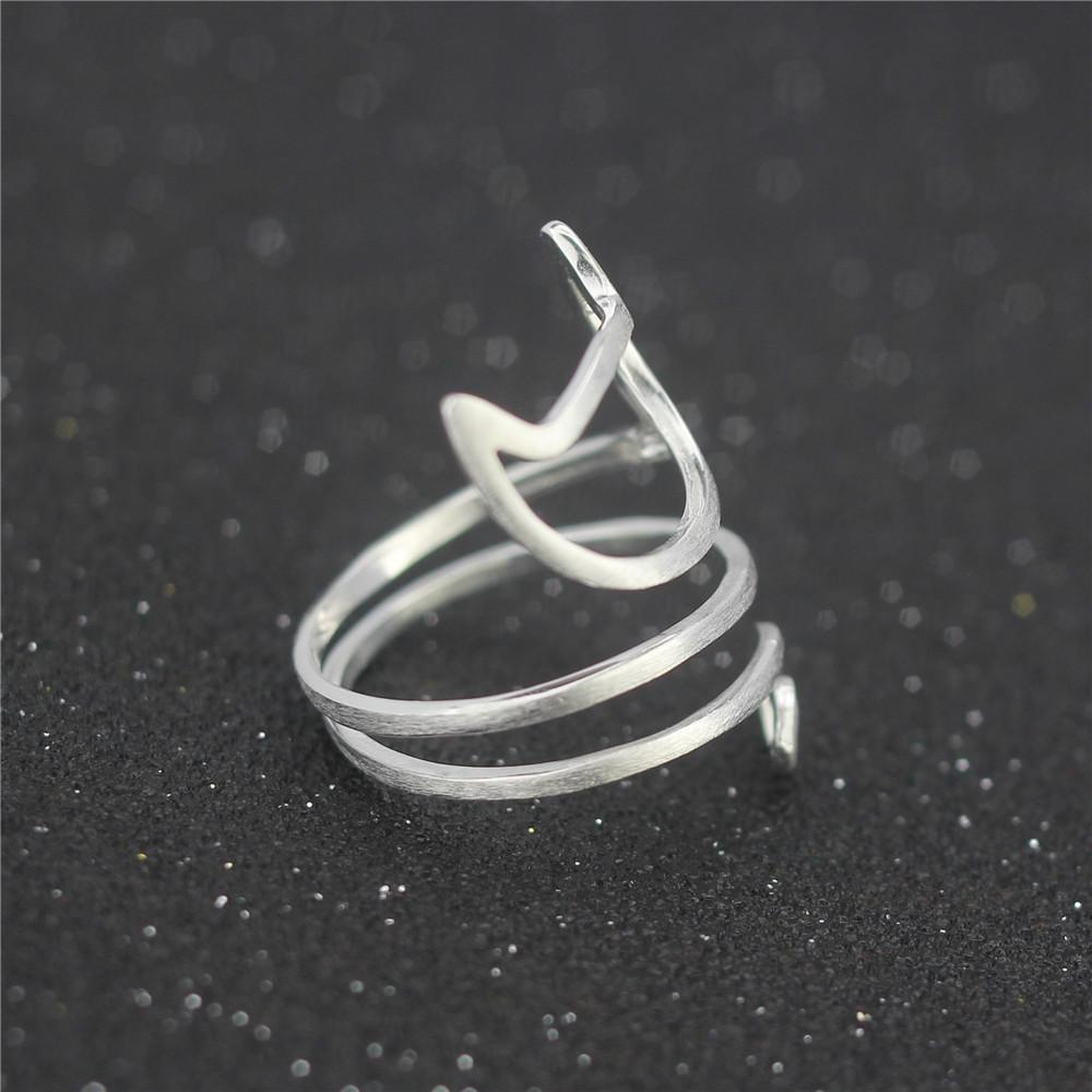 Sterling Silver Cute Cat Ring - Delighful Pet Accessories
