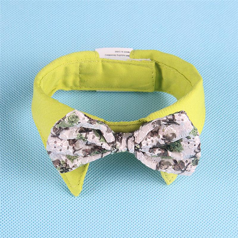 Lovely Bow Knot Pet  Collar  B
