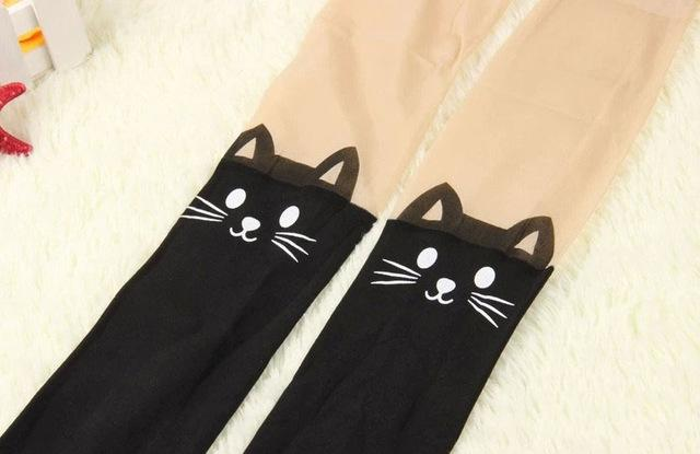 Tights with Cats
