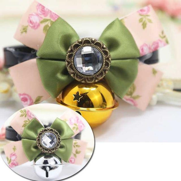 Luxury Handmade Dog Cat Collar