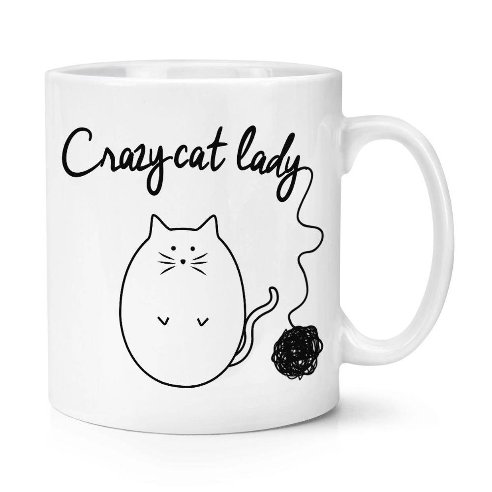 crazy cat lady mugs  cup