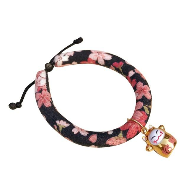 Collar For Cats Japanese Style